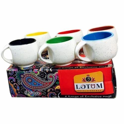 ff2f9beeee5 Ceramic Pari Mug Small W/M, Ceramic Cup - Anuj Industries, Khurja ...