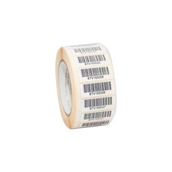 Chromo White Self Adhesive Barcode Label Roll for Barcode Printing, GSM: 80 GSM