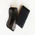 Dark Black Compact Lattice Apron- Soft On Mango Tube