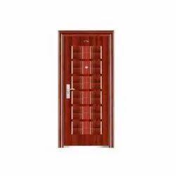 Brown Teak Wood Antique Wooden Door