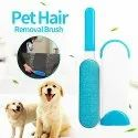 Hair And Lint Remover With Self Cleaning Base
