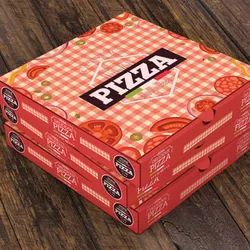 Pizza Box Deign Print Corrugated