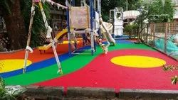 Malaysia Multi Design Pattern EPDM Rubber Flooring, Thickness: 15mm, Size/Dimension: 1mm -4mm