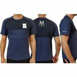 Mens Half Sleeve Polyester Dri Fit T Shirt