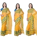 Supernet Aari Work Saree Or Suits