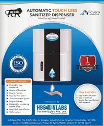 Automatic Hand Sanitizer Dispenser 8 Litres, Mist (Spray) Based