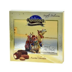Assorted Chocolate with Almond - Gift Box 150g