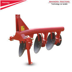 Mild Steel Mahindra Mounted 4 Disc Plough