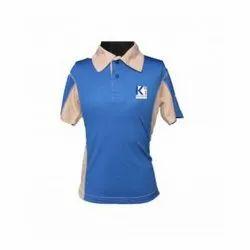 Cotton Blue KI Boys Sports T-Shirt, Size: S-XXL