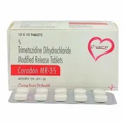 Trimetazidine Dihydrochloride Modified Release Tablets