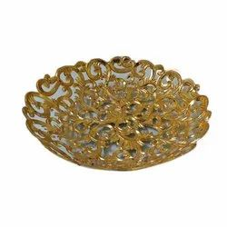 Decorative Golden Basket