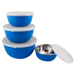 Set of 4 Flora Microwave Safe Bowls