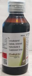 Levosalbutamol Sulphate, Ambroxol Hydrochloride and Guaiphenesin Syrup