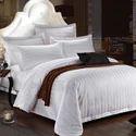 Hotel Satin Stripe Duvet Cover