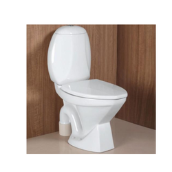 White European Water Closet