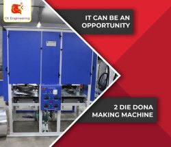 C K Engineering Paper Dona and Plate Making Machine, 220 V