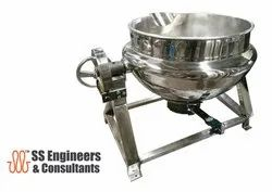 Steam Jacketed Kettle Kadhai