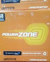 Power Zone Bike Battery, Type: Dry Charged