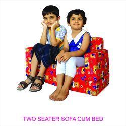 Steelcraft Red Kids Printed Sofa, Age of Kid: 1 to 3 Year
