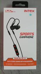 17562a1f9bc Intex BT-13 Headset With Mic (Black, In The Ear), Bt13, Rs 500 /unit ...