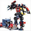 Block Transformer Car Toy