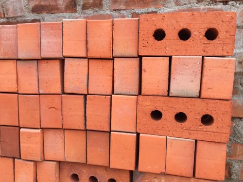 Clay Rectangular Exposed Wire Cut Bricks, Size (Inches): 9 In. X 4 In. X 3 In