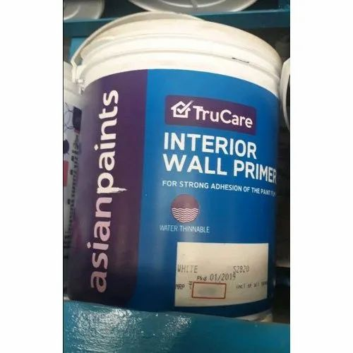 Asian Paints White Asian Paint True Care Interior Wall Primer Packaging Type Bucket Roller Rs 1175 Bucket Id 21305267012
