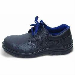 Liberty Leather Black Endura Safety Shoes,  Size: 5-11