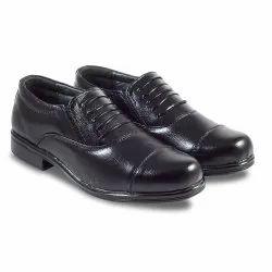 Black Unisex Police Shoes