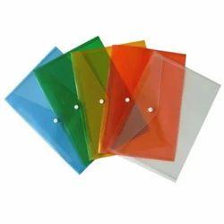Chetan Plastic Clear Envelope Plastic File