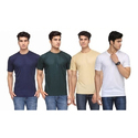 Round Neck Polyester T-Shirt