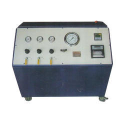 Strip Chart Recorded PLC Controlled Hydraulic Pressure Test Pump System