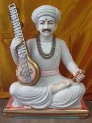 Marble Tukaram Maharaj Statue