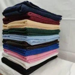 Cotton Plain Bath Towel, Size: 28x55 Inch