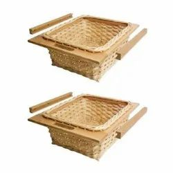 Wicker Kitchen Basket