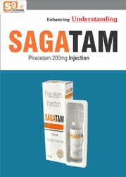 Piracetam 3gm/15ml Injection