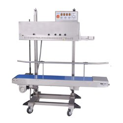 Esskay Heavy Duty Vertical Band Sealer, Capacity: 10 To 30 Pouch/ Min, Horizontal
