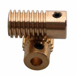 Industrial Brass Worm Gear, For Industrial