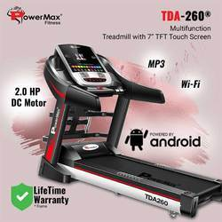 TDA-260 Powermax Multi-Function Motorized Treadmill