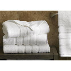 Cotton White Bath Towel