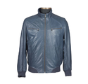 Men Mens Classic Leather Jacket