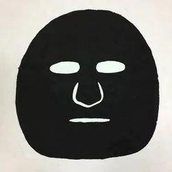Bamboo Charcoal Black Facial Sheet Skin Care Natural Diy Mask