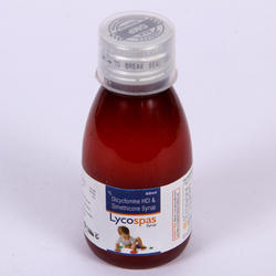 Lycospas Diclomine 10 mg Simethicone 40 mg Syrup, Packaging Size: 100 mL