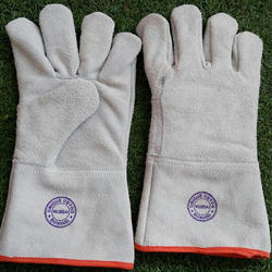 Natural Leather Hand Gloves