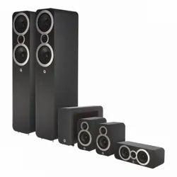 Black Q Acoustics 5.1 Chennal Speaker Model -3050i
