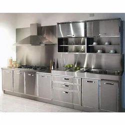 Aluminium Commercial Modular Kitchen, Warranty: 10-15 Years