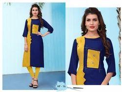casual wear rayon kurti