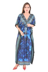 Silk Kaftan Wear Poncho Fashionable Caftan