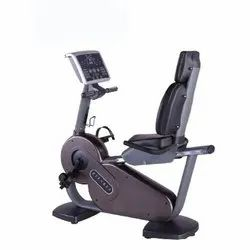 OnTrackYou Rose Gold Recumbent Bike Semi Commercial - OTYSR-001, For Gym