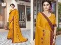 Triveni Present Alice Chines Chiffon Designer Fancy Saree